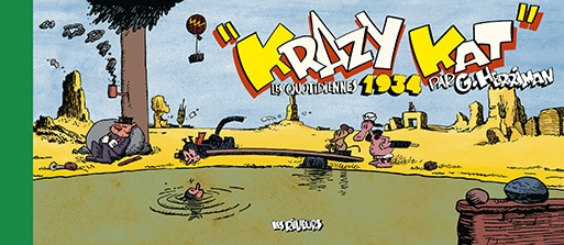 Cover Krazy Kat Les Quotidiennes de 1934