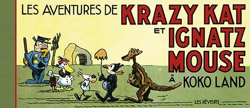 Cover Les Aventures de Krazy Kat et Ignatz Mouse à Kokoland