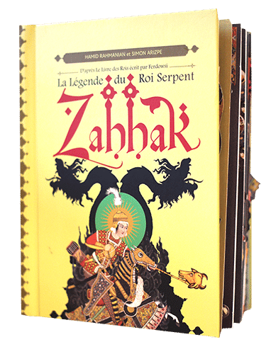 Cover Zahhak, La Légende du Roi Serpent POP UP